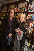 ANGUS DEAYTON; , Allie Esiri's The Love Book launch party , Daunt Books <br /> 83 Marylebone High Street, London. 5 February 2014