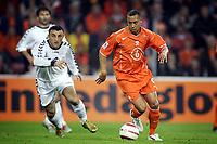Fotball<br /> VM-kvalifisering<br /> Nederland v Armenia<br /> 30. mars 2005<br /> Foto: Digitalsport<br /> NORWAY ONLY<br /> denny landzaat
