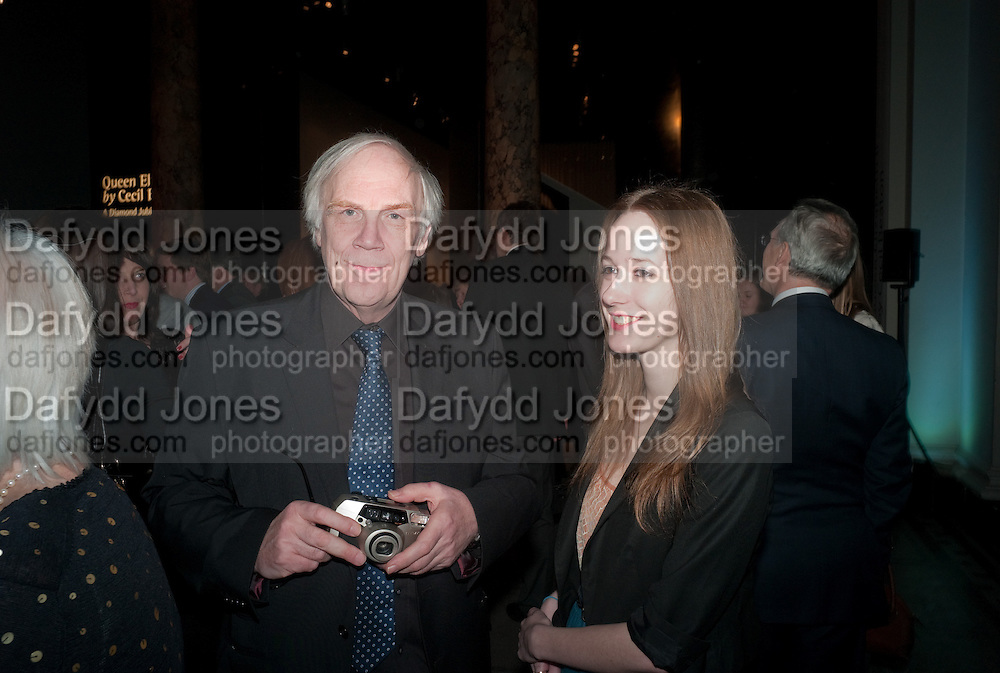 TERENCE PEPPER; IMOGEN LYONS, Cecil Beaton private view. V and A Museum. London. 6 February 2012