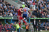 Reading striker Hal Robson-Kanu during the Sky Bet Championship match between Reading and Middlesbrough at the Madejski Stadium, Reading, England on 3 October 2015. Photo by Jemma Phillips.