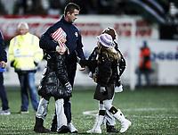 Fotball , 24. oktober 2010 ,  Tippeligaen , Eliteserien<br /> Strømsgodset - Hønefoss 4-1<br /> <br /> trener Rony Deila , SIF og barna hans