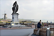 Nederland, the Netherlands, Vlissingen, 14-9-2014Het standbeeld van de beroemde zeevaarder, opperbevelhebber van de hollandse marine in de gouden eeuw, admiraal Michiel de Ruyter.Statue of the famous dutch navy commander at sea, admiral Michiel de Ruyter.Tocht naar Chatham, de Slag bij de Medway, Raid on the Medway , The Dutch RaidFOTO: FLIP FRANSSEN/ HH