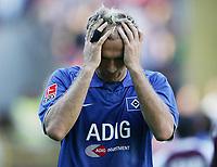 Fotball<br /> Bundesliga Tyskland 2004/2005<br /> Foto: Witters/Digitalsport<br /> NORWAY ONLY<br /> <br /> 18.09.2004<br /> Sergej Barbarez HSV<br /> FC Kaiserslautern - Hamburger SV 2:1