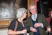 SARA WHEELER; DAVID ASTOR, The Literary Review Bad Sex fiction award 2012. The In and Out Club, 4 St. james's Sq. London. 4 December 2012