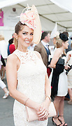 30/07/2015 report free : Winners Announced in Kilkenny Best Dressed Lady, Kilkenny Best Irish Design & Kilkenny Best Hat Competition at Galway Races Ladies Day <br /> At the event was Sophie Small from Clarenbridge Galway<br /> Photo:Andrew Downes, xposure