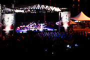On the last stop of Jack Daniel's Live at the Landmark concert series (May 18th, 2013), Eagles of Death Metal shook and stirred the crowd under the Arch in St. Louis, Missouri.
