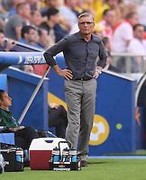 2016.06.21 Marsylia Marseille<br /> Pilka nozna Euro 2016 mecz grupy C<br /> Ukraina - Polska <br /> N/z Adam Nawalka trener Head Coach<br /> Foto Lukasz Laskowski / PressFocus<br /> <br /> 2016.06.21 Marsylia Marseille<br /> Football UEFA Euro 2016 group C game between Ukraine and Poland<br /> Adam Nawalka trener Head Coach<br /> Credit: Lukasz Laskowski / PressFocus