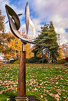 Sculpture at Bellevue Downtown Park