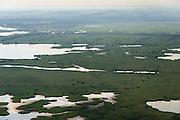 Nederland, Flevoland, Gemeente Lelystad, 27-08-2013; Oostvaardersplassen met Krentenplas (li boven).<br /> Bird sanctuary and nature reserve Oostvaardersplassen north-east of the city of Almere.<br /> luchtfoto (toeslag op standaard tarieven);<br /> aerial photo (additional fee required);<br /> copyright foto/photo Siebe Swart.