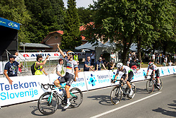 Pascal Ackermann (GER) of Bora Hansgrohe celebrates during 1st Stage of 26th Tour of Slovenia 2019 cycling race between Ljubljana and Rogaska Slatina (171 km), on June 19, 2019 in  Slovenia. Photo by Matic Klansek Velej / Sportida