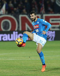 December 29, 2017 - Crotone, KR, Italy - RAUL ALBIOL of SSC Napoli   during the serie A match between FC Crotone and SSC Napoli at Stadio Comunale Ezio Scida on December 29, 2017 in Crotone, Italy. (Credit Image: © Gabriele Maricchiolo/NurPhoto via ZUMA Press)