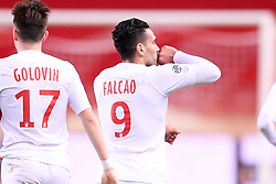 January 19, 2019 - Monaco, France - 09 RADAMEL FALCAO (MONA) - JOIE - DOS (Credit Image: © Panoramic via ZUMA Press)