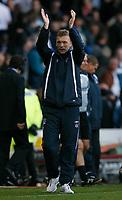 Photo: Steve Bond.<br /> Derby County v Everton. The FA Barclays Premiership. 28/10/2007. David Moyes celebrates
