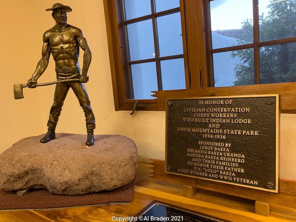 CCC Memorial, Indian Lodge