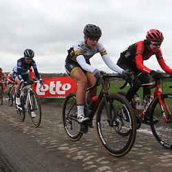 03-03-2020: Wielrennen: GP Le Samyn: vrouwen: Dour: Kylie Waterreus