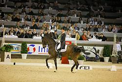 Schellekens-Bartels Imke (NED) - Hunter Douglas Sunrise<br /> Winer World Cup Qualifier<br /> CDI-W Vlaanderens Kerstjumping Mechelen 2009<br /> Photo © Dirk Caremans