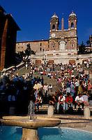 Italie - Latium - Rome - Place d'Espagne // Spain square