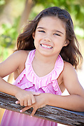 Young Smiling Hispanic Girl