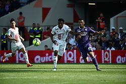 May 6, 2018 - Toulouse, France - Lebo Mothiba (losc) vs Kelvin Amian  (Credit Image: © Panoramic via ZUMA Press)