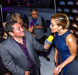 LOS ANGELES, CA - JUN 3: Rosie Rivera attends Despegando Show VIP Launch party at Don Chente's Restaurant in downtown Los Angeles. The reality show is presented by Adriana Gallardo, founder and CEO of Adriana's Insurance. The show will coach chosen participants how to be successful entrepreneurs. 2015, June 3. Byline, credit, TV usage, web usage or linkback must read SILVEXPHOTO.COM. Failure to byline correctly will incur double the agreed fee. Tel: +1 714 504 6870.