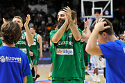 DESCRIZIONE : Beko Legabasket Serie A 2015- 2016 Dinamo Banco di Sardegna Sassari - Sidigas Scandone Avellino <br /> GIOCATORE : Salvatore Parlato<br /> CATEGORIA : Postgame Ritratto Esultanza<br /> SQUADRA : Sidigas Scandone Avellino<br /> EVENTO : Beko Legabasket Serie A 2015-2016 <br /> GARA : Dinamo Banco di Sardegna Sassari - Sidigas Scandone Avellino <br /> DATA : 28/02/2016 <br /> SPORT : Pallacanestro <br /> AUTORE : Agenzia Ciamillo-Castoria/C.Atzori