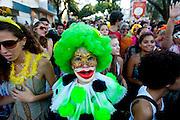 BELO HORIZONTE_MG. 21 de fevereiro de 2012...BELOTUR - CARNAVAL BH..Bloco Peixoto,  desfila pelas ruas de Santa Efigenia.?.Foto: RODRIGO LIMA / NITRO.