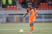 Didier NDONG - 18.04.2015 - Lorient / Toulouse - 33eme journee de Ligue 1<br />Photo : Vincent Michel / Icon Sport