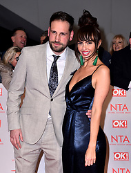 Jennifer Metcalfe and Greg Lake attending the National Television Awards 2018 held at the O2 Arena, London. PRESS ASSOCIATION Photo. Picture date: Tuesday January 23, 2018. See PA story SHOWBIZ NTAs. Photo credit should read: Matt Crossick/PA Wire