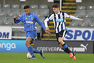 U18 Newcastle United v AFC Wimbledon 060116