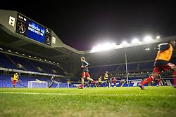 LONDON, ENGLAND - Wednesday, February 1, 2012: Liverpool players warm-up before the NextGen Series Quarter-Final match against Tottenham Hotspur at White Hart Lane. (Pic by David Rawcliffe/Propaganda)