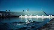 Ocean Baths, Newcastle, NSW, Australia.