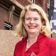 NLD/Den Haag/20190528 - Maxima bij Platform Wijzer in Geldzaken, Burgemeester Pauline Krikke