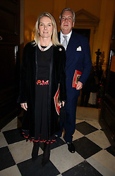 MR DAVID McDONOUGH and LADY MARY-GAYE CURZON at Carols from Christmas - a celebration of Christmas held at the Royal Hospital Chapel, Chelsea, London in aid of The Institute of Cancer Research on 5th December 2006.<br /><br />NON EXCLUSIVE - WORLD RIGHTS