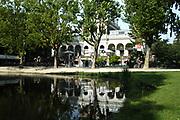 Het filmmuseum in het Vondelpark, Amsterdam . / The Filmmuseum in the Vondelpark , Amsterdam