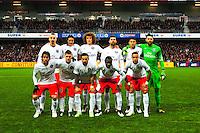 Equipe Paris Saint Germain  - 14.12.2014 - Guingamp / PSG - 18eme journee de Ligue1<br /> Photo : Philippe Lebrech / Icon Sport *** Local Caption ***