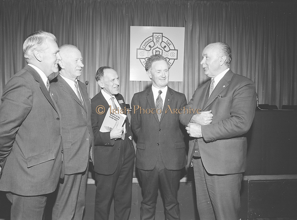 GAA Commission Report. 1st December 1971. 01.12.1971.