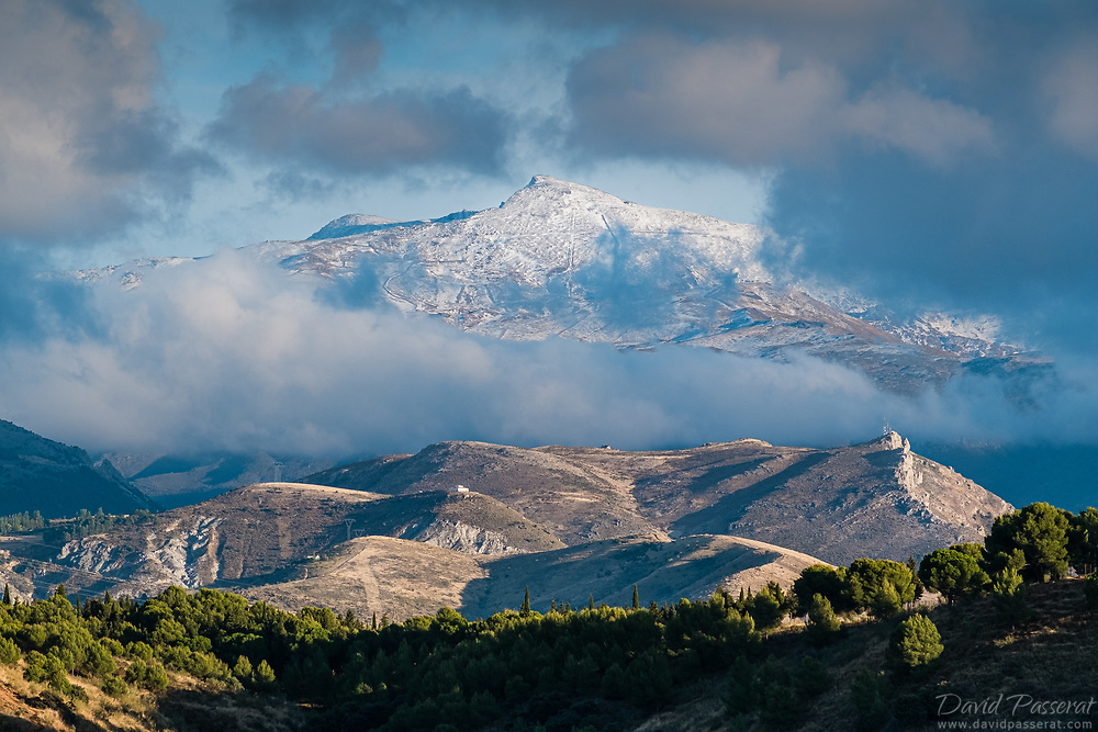 First snow on Pic del Veleta