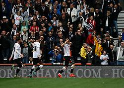 Bradley Johnson of Derby County (R) celebrates scoring his sides third goal - Mandatory byline: Jack Phillips / JMP - 07966386802 - 18/10/2015 - FOOTBALL - The iPro Stadium - Derby, Derbyshire - Derby County v Wolverhampton Wanderers - Sky Bet Championship