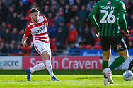 Ben Whiteman of Doncaster Rovers (8) passes the ball during the EFL Sky Bet League 1 match between Doncaster Rovers and Coventry City at the Keepmoat Stadium, Doncaster, England on 4 May 2019.