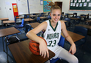 William Monroe rising sophomore girls basketball player Samantha Brunelle will be playing for the United States' U17 women's basketball at the world championships in Spain this summer. Photo/The Daily Progress/Andrew Shurtleff