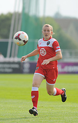 Bristol Academy Womens' Frankie Brown in action - Photo mandatory by-line: Nizaam Jones- Mobile: 07583 387221 - 28/09/2014 - SPORT - Women's Football - Bristol - SGS Wise Campus - BAWFC v Man City Ladies - sport