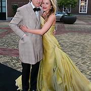 NLD/Amsterdam/20130501- Voque Queensball 2013, Lauren Verster en partner Jort Kelder