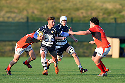 Kalvin Mills (South Africa Schools) of Bristol Rugby Academy U18 - Mandatory by-line: Paul Knight/JMP - 21/01/2017 - RUGBY - SGS Wise Campus - Bristol, England - Bristol Academy U18 v Saracens Academy U18 - Premiership Rugby Academy U18 League
