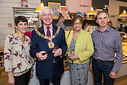 Chococo opening event party for the new Winchester store -  with owners Claire and Andy Burnet. Guests included: Mayor and Mayoress of Winchester, Local BID members and Cllr Rob Humby. Winchester, UK 30 January 2014. Guy Bell, 07771 786236, guy@gbphotos.com