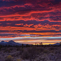 Amazing Sunset by Tumalo Reservior