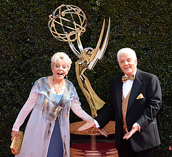 2018 Daytime Emmy Awards. 29 Apr 2018 Pictured: Bill Hayes and Susan Seaforth Hayes. Photo credit: MEGA TheMegaAgency.com +1 888 505 6342
