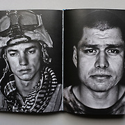 """Garmsir Marines body of work featured in the Warzone catalogue from the exhibition """"Warzone"""" organized by Noorderlicht. (Credit Image: © Louie Palu/ZUMA Press)"""