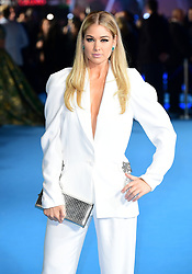 Amanda Clapham attending the Aquaman premiere held at Cineworld in Leicester Square, London.
