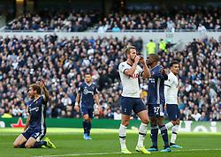 Harry Kane of Tottenham Hotspur after a near miss - Mandatory by-line: Arron Gent/JMP - 19/10/2019 - FOOTBALL - Tottenham Hotspur Stadium - London, England - Tottenham Hotspur v Watford - Premier League