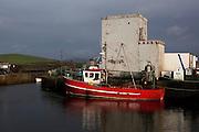 Trawler in Cleggan, Connemara, Galway, Ireland